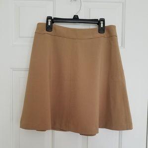 Camel colores mini skirt